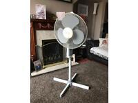 Gold air pedestal fan