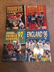 Premier League Stickers 1995-1997 and England 1996