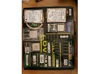Job lot of pc parts for sale