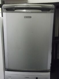 HOTPOINT UNDER COUNTER FRIDGE + FREE BH ONLY POSTCODES DEL+FREE 3MTH GUARANTEE