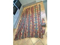 Montgomery lined curtains 3 metres x 2 metre drop