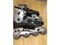 Roller boots size 7 blades?