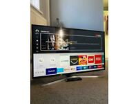 """Samsung 40"""" Smart 4K Ultra HD HDR LED TVPlus with remote"""