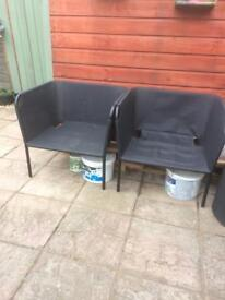 2 Ikea Garden Chairs