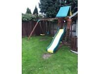 Garden Swings and slides set
