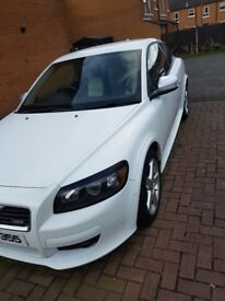 VOLVO C30 R-DESIGN WHITE **LOW MILES** (NOT AUDI A3 OR BMW 1 SERIES)