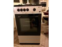Flavel Freestanding Gas Cooker Silver