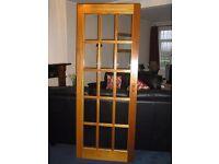 "30"" Hardwood glazed door - FREE"