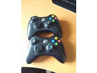 XBox 360 Games/Wireless Contollers/Kinnect Sensor