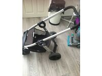 Chicco urban stroller and carrycot car seat travel system