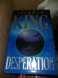 Stephen King Hardback Book Desperation - Perfect Condition
