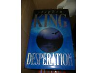Stephen King Hardback Book Desperation - Perfect Condition