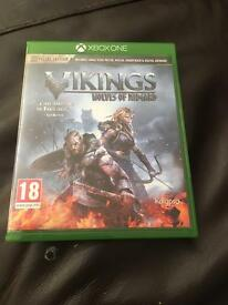 Xbox one special edition vikings wolves of Midgard