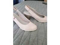 Summer formal outfit shoes