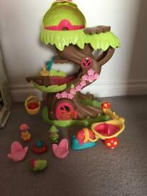 Happyland Forest Fairy Treehouse - Brand new condition