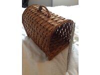 Vintage cat basket