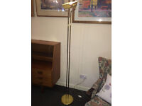 Lovely Uplighter Floor Lamp Gilt Finish