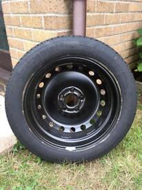 Renault grand scenic space saver spare wheel
