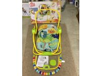 Bright Starts Rock in the Park Infant to Toddler Rocker
