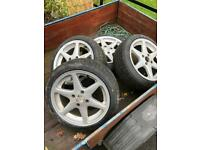 "4x108 16"" wheels & tyres"