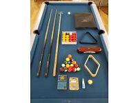 SAM ATLANTIC CHAMPION 7FT POOL TABLE Used but in excellent condition, with accessories