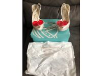 Genuine never worn Vivienne Westwood size 6 heels. Comes with box and dust bag