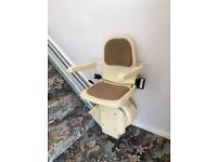 Brooks Stairlift, excellent condition, regular serviced