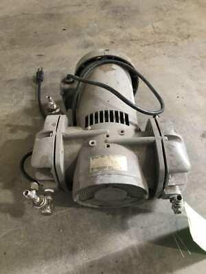 Thomas 2737cm39tfel-3139 Vacuum Air Pump 1725rpm 12hp 115v 1ph