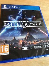 Star Wars Battlefront II (BRAND NEW SEALED PS4)