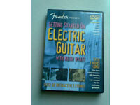 DVD ELECTRIC GUITAR TUTOR .FENDER.