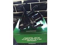 shimano aerlex 10000 xtb spod reel brand new boxed