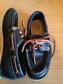 Boys timberland boat shoes