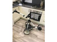 STUNNING WHITE S1 Motocaddy (free delivery 60 miles)
