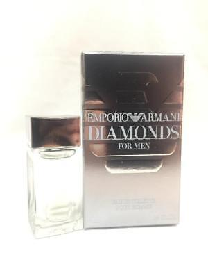 EMPORIO ARMANI DIAMONDS for MEN by GIORGIO ARMANI EDT mini 4ml / 0.14fl.oz (Emporio Armani By Giorgio Armani For Men)
