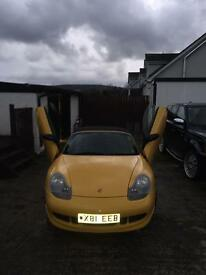 Porsche Boxster S (not type r Leon evo golf Impreza Mercedes vaux)