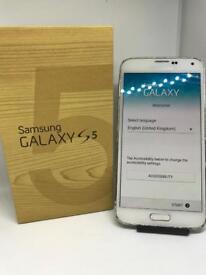 Samsung S5 White Unlocked Boxed