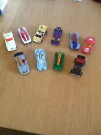 10 hot wheel cars