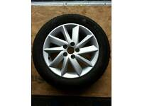 SEAT IBIZA 2009 TO 2012 Model standard fitment Alloy Wheels with good tyres