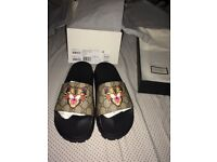 Gucci sandles 1000% authentic / Louis Vuitton / Versace / Zannoti / balmain / prada