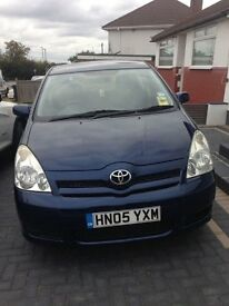 Toyota Corolla Verso 2005 1.6 Petrol - 7 Seater (Family Car)