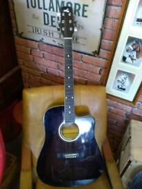 Lorenzo electric acoustic guitar