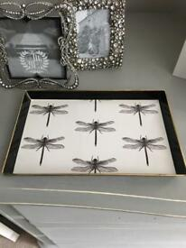INDIA JANE DRAGONFLY TRAY/TRINKETS-NEW