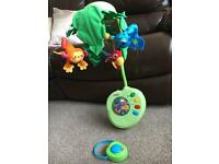 Fisher Price Cot jungle mobile with remote control