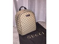 gucci gg supreme canvas backpack RRP790