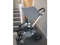 Bugaboo cameleon 3 special edition in Grey melange. Three and a half months old.