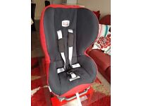 Britax Prince Child Car Seat in Excellent Condition Plus Separate Kid Seat with Cup/Bottle holder