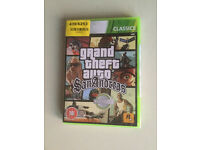 Brand New And Sealed Grand Theft Auto San Andreas Xbox 360 Game