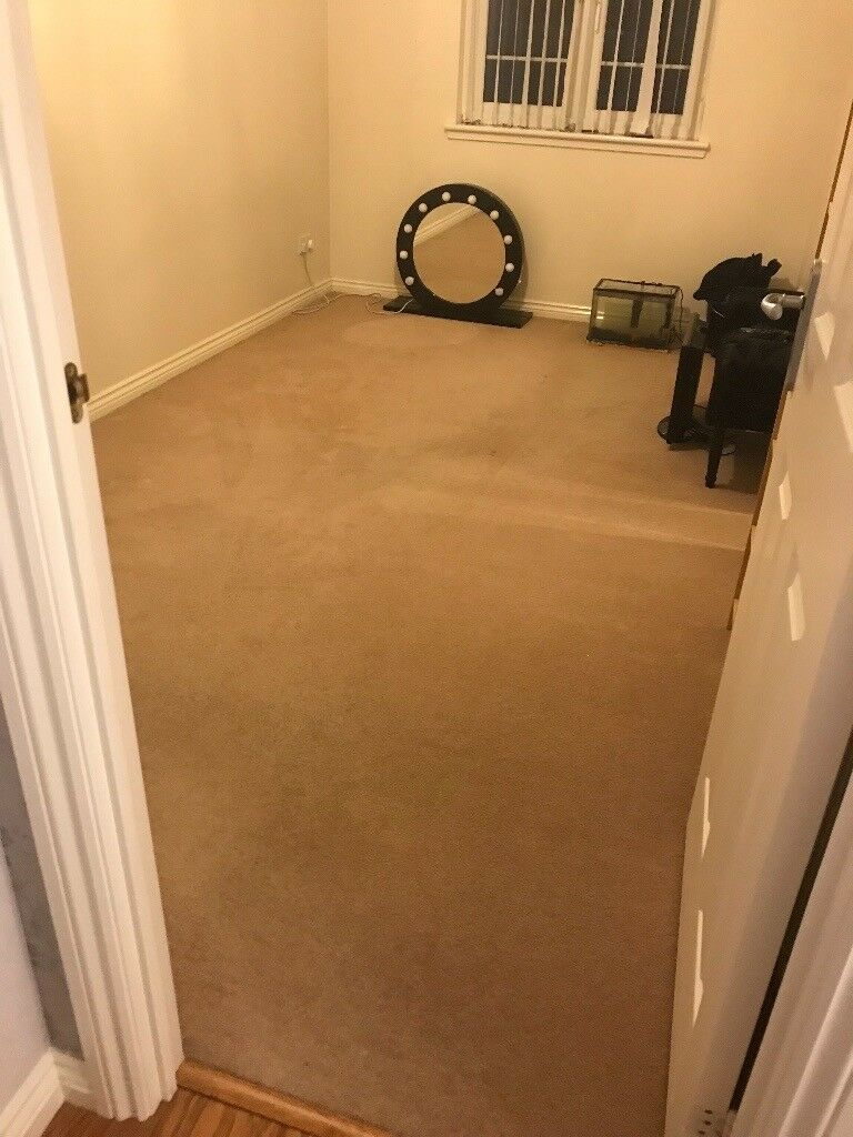 Carpet 14'7 x 8'3 dark beige/mink colour from clean smoke free home