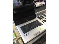 Toshiba Laptop 3 GiG Ram 250 GiG Hard Drive Webcam