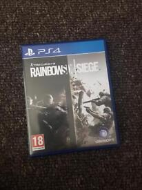 Selling rainbow six siege for PS4